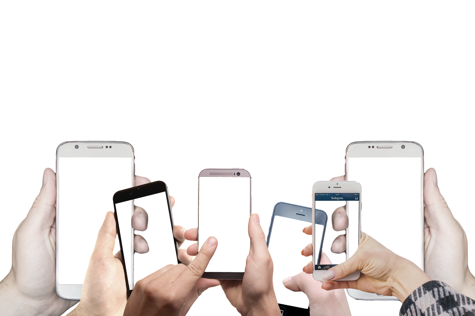 Many smartphones of all kinds and companies