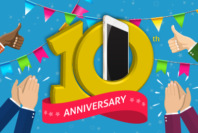 Happy Anniversary iPhone