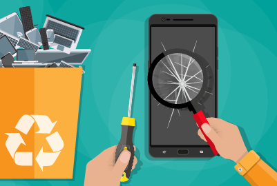 mobile device recycling tips